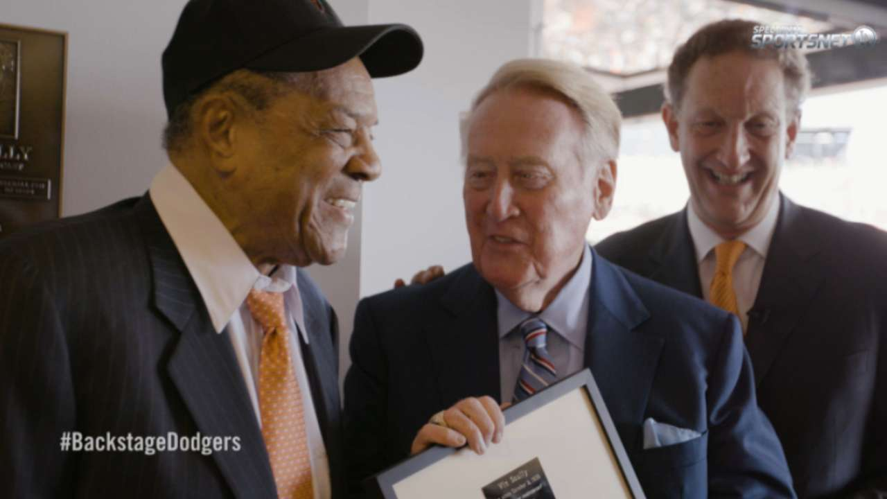 Backstage Dodgers: Scully Finale