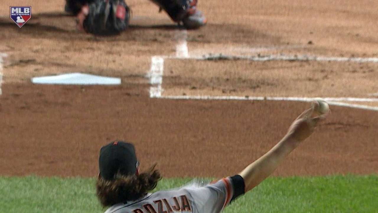 Samardzija strikes out Rizzo