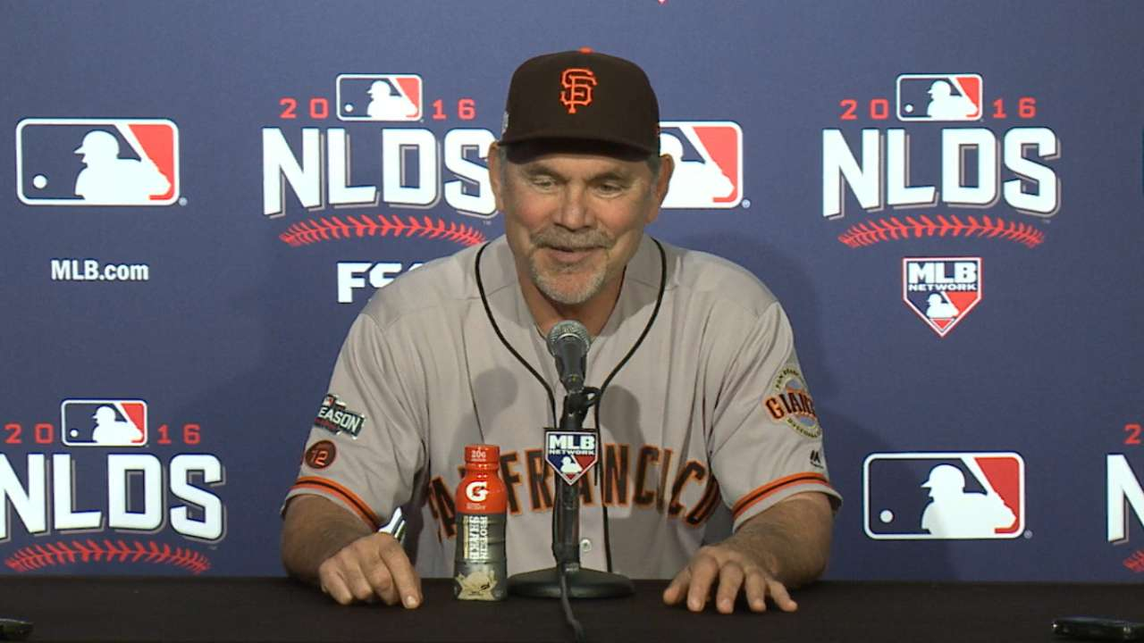 Oct. 8 Bruce Bochy postgame interview