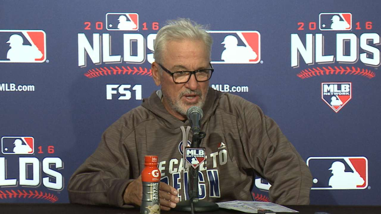 Oct. 8 Joe Maddon postgame interview