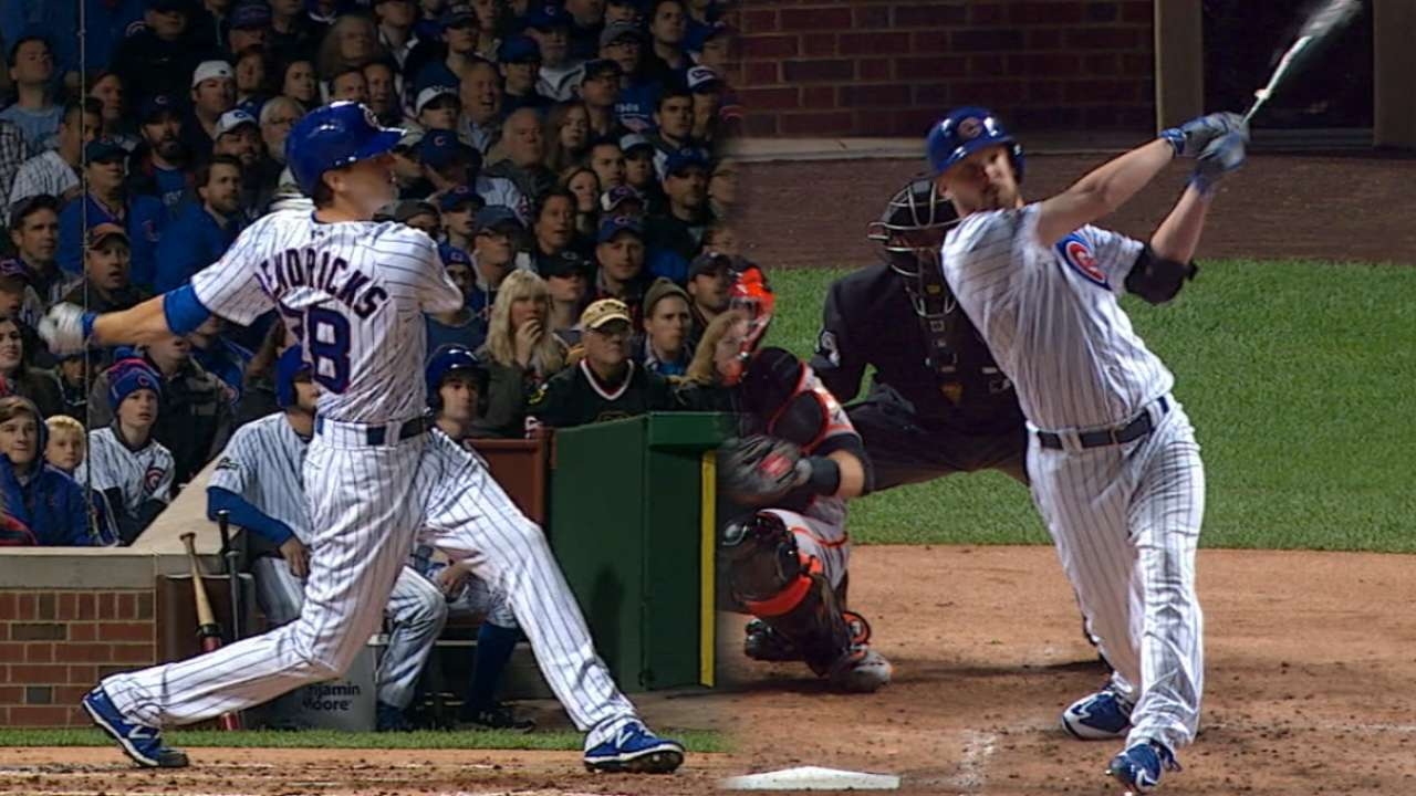Must C: Pitchers spark offense