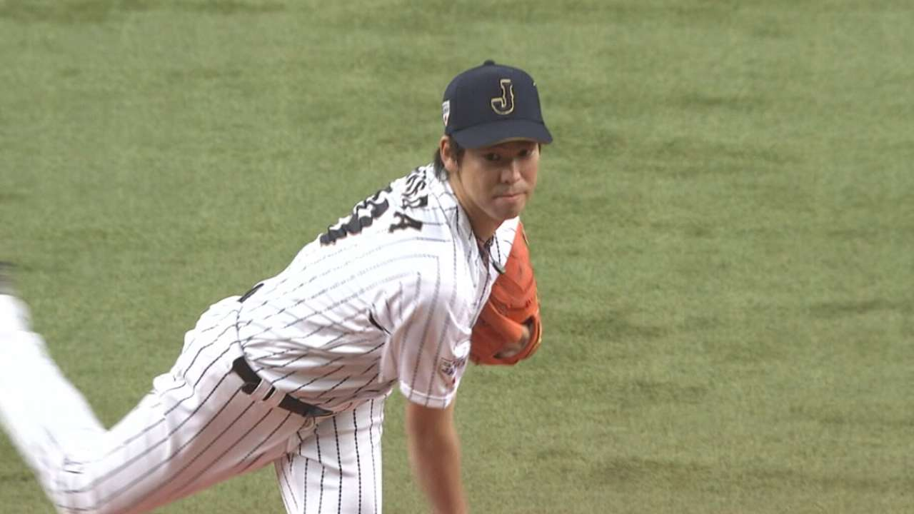 Maeda on pitching since Japan