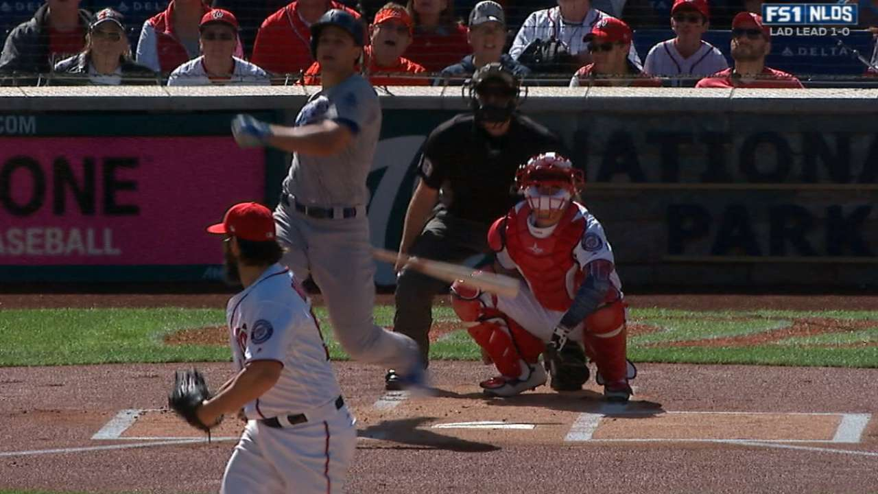 With second 1st-AB HR, Seager on impressive list