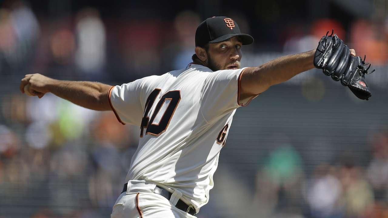 Giants turn to Bumgarner with season on line