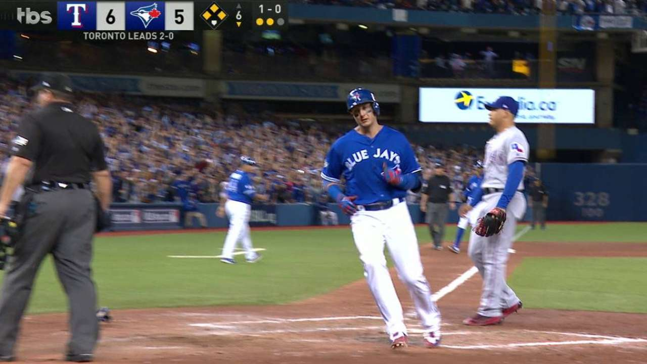 Tulo scores to tie the game