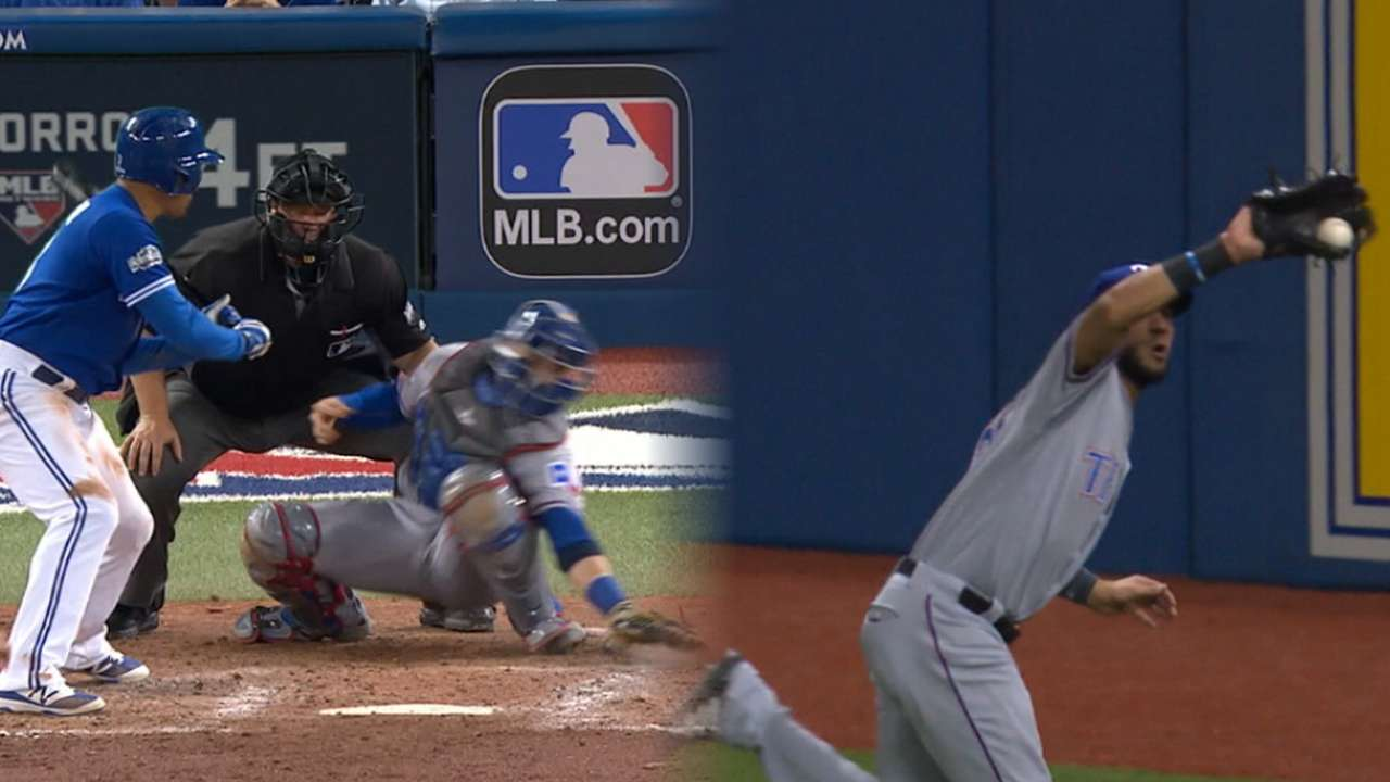 Blue Jays tie game in the 6th