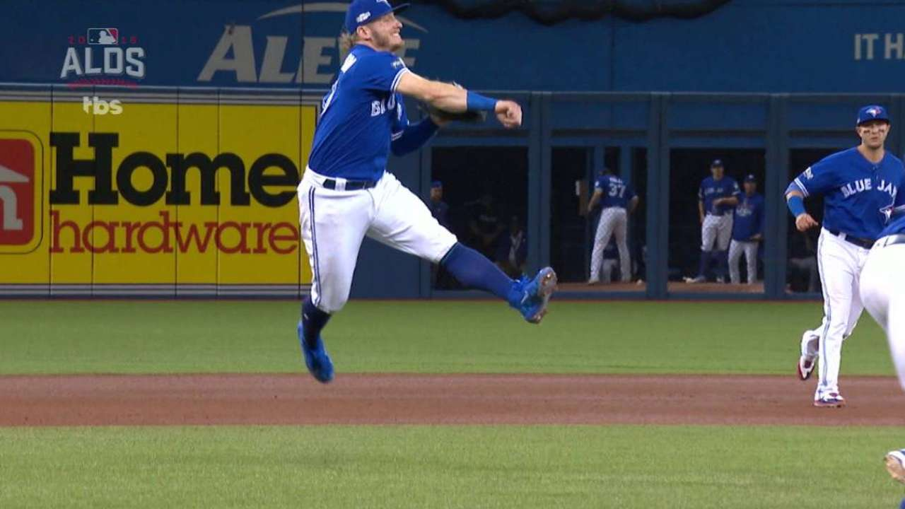 Donaldson's great charging play