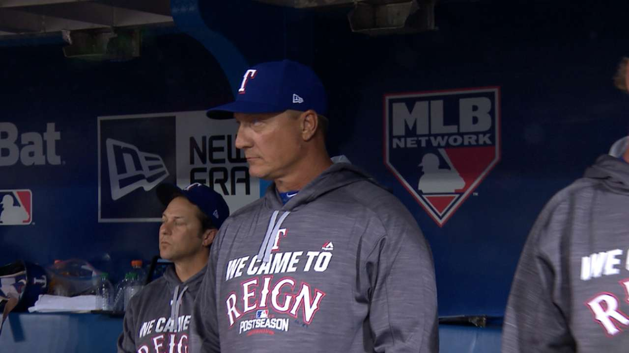 Oct. 9 Jeff Banister postgame interview