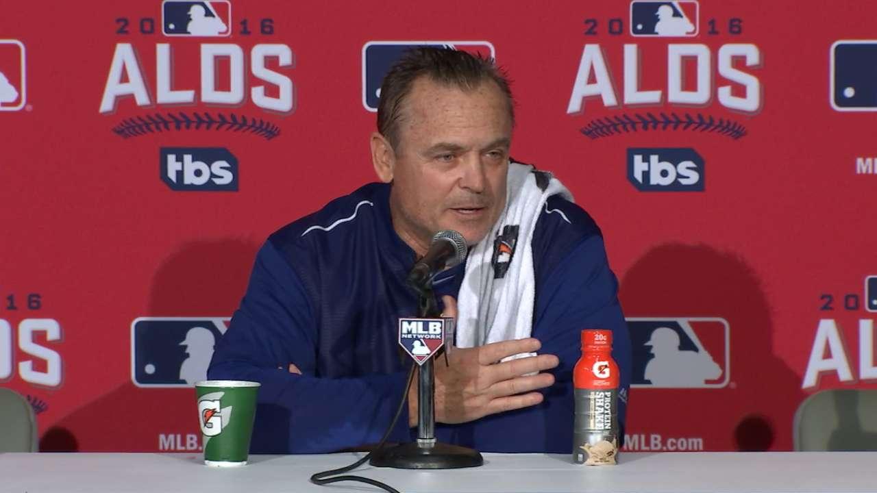Travis hopes rest before ALCS helps knee heal