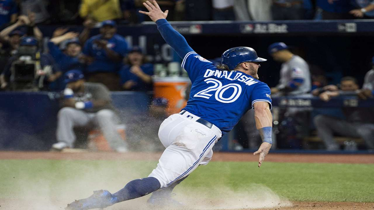Donaldson on final play of game