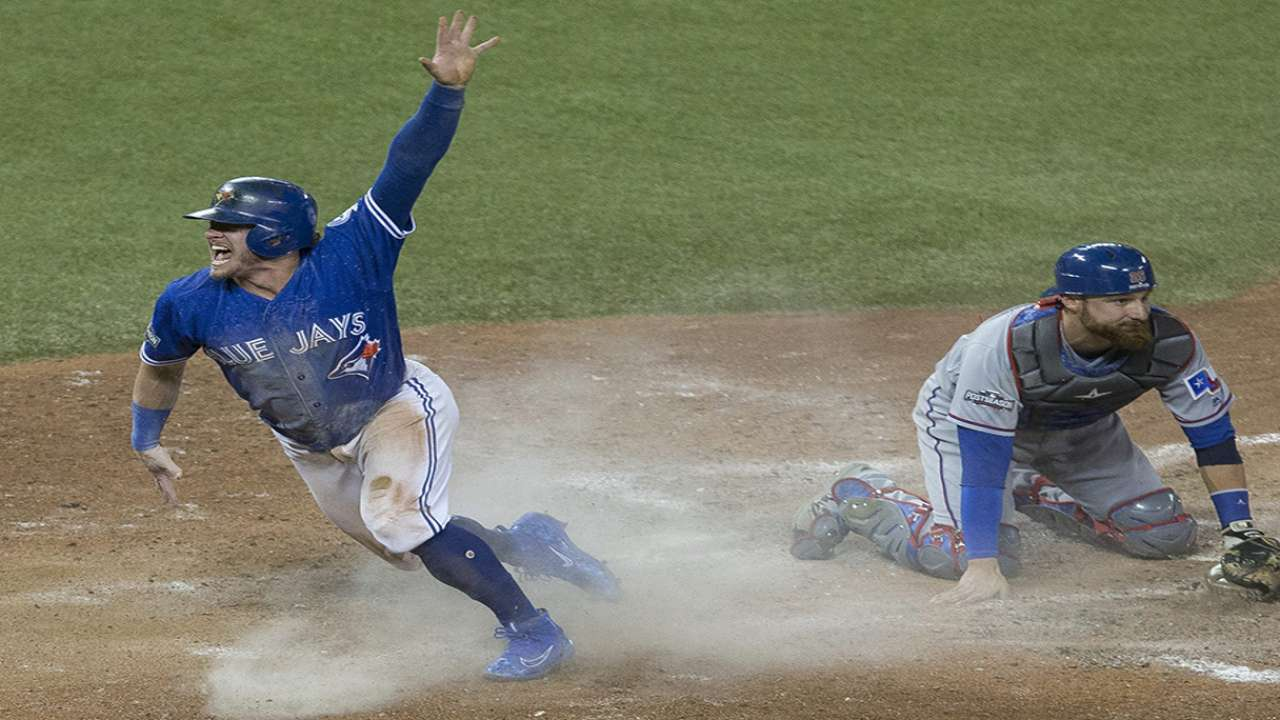 Banister on final play