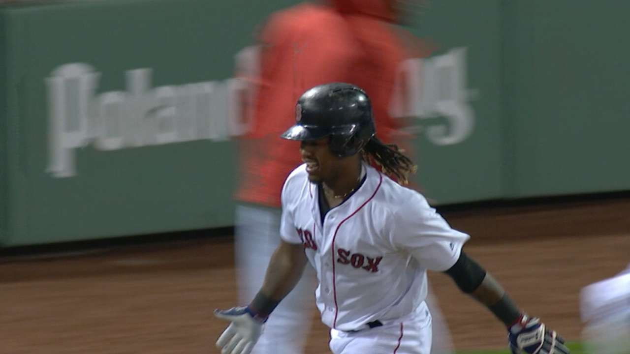 Best Play, Offense: Hanley