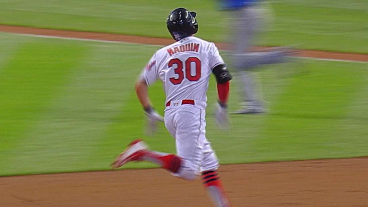 Best Play, Offense: Naquin