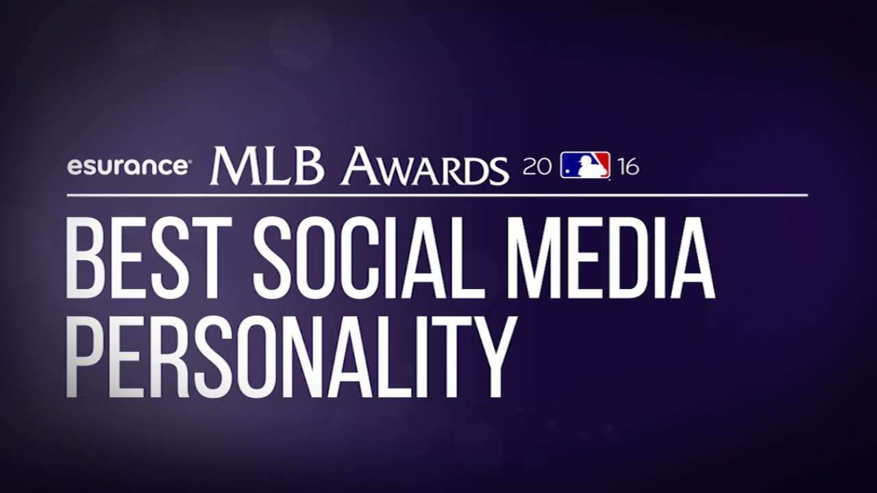 Vote: MLB Awards' Best Social Media Personality