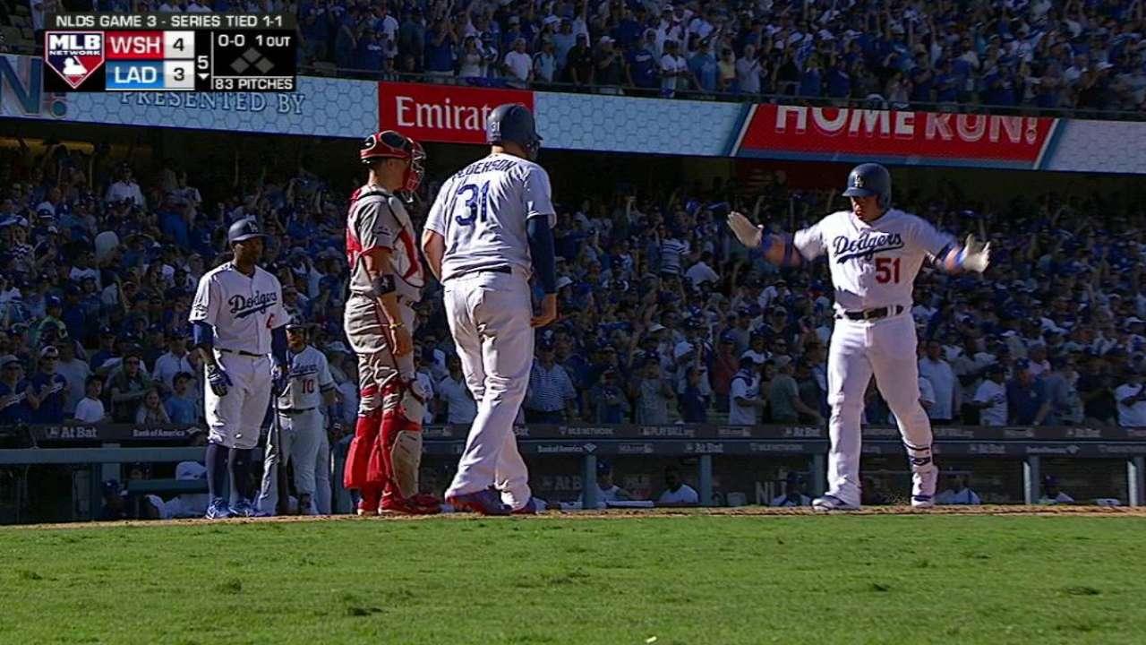 Dodgers al borde de la eliminación tras derrota ante Nacionales