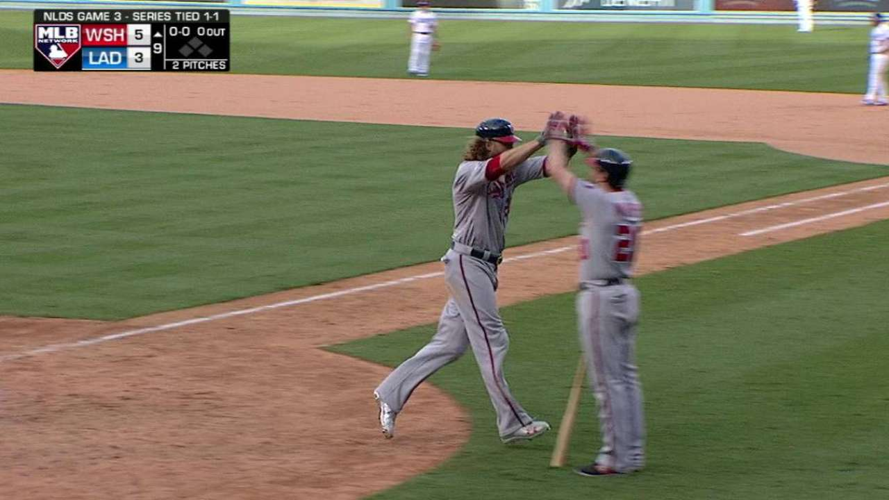 Werth's solo homer in the 9th