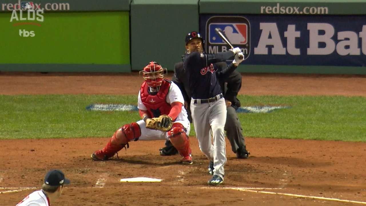 Crisp's two-run homer