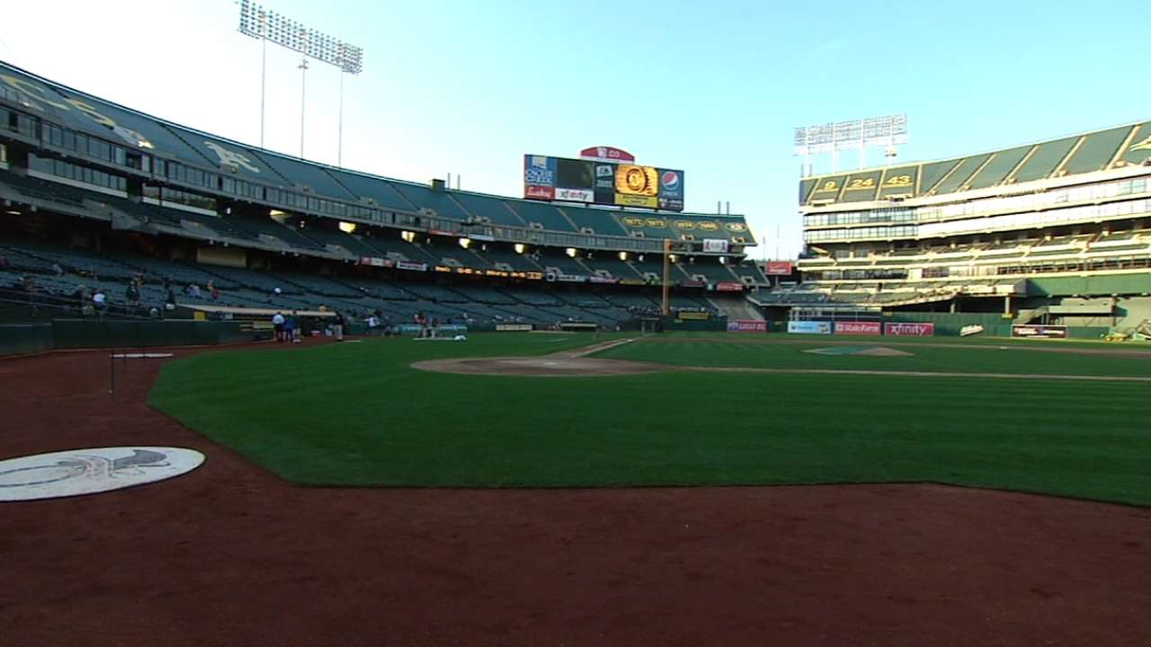 Progress on new A's park has Manfred hopeful