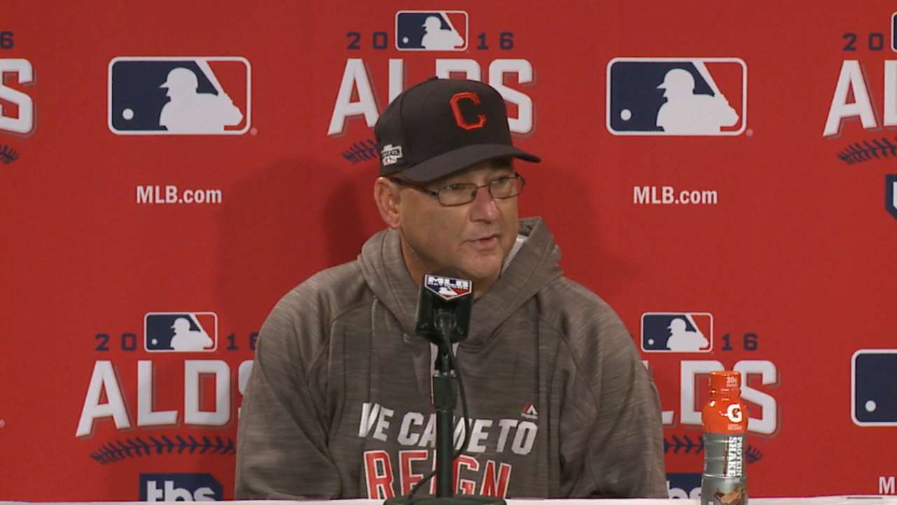 Tribe honored to be part of Ortiz's last game