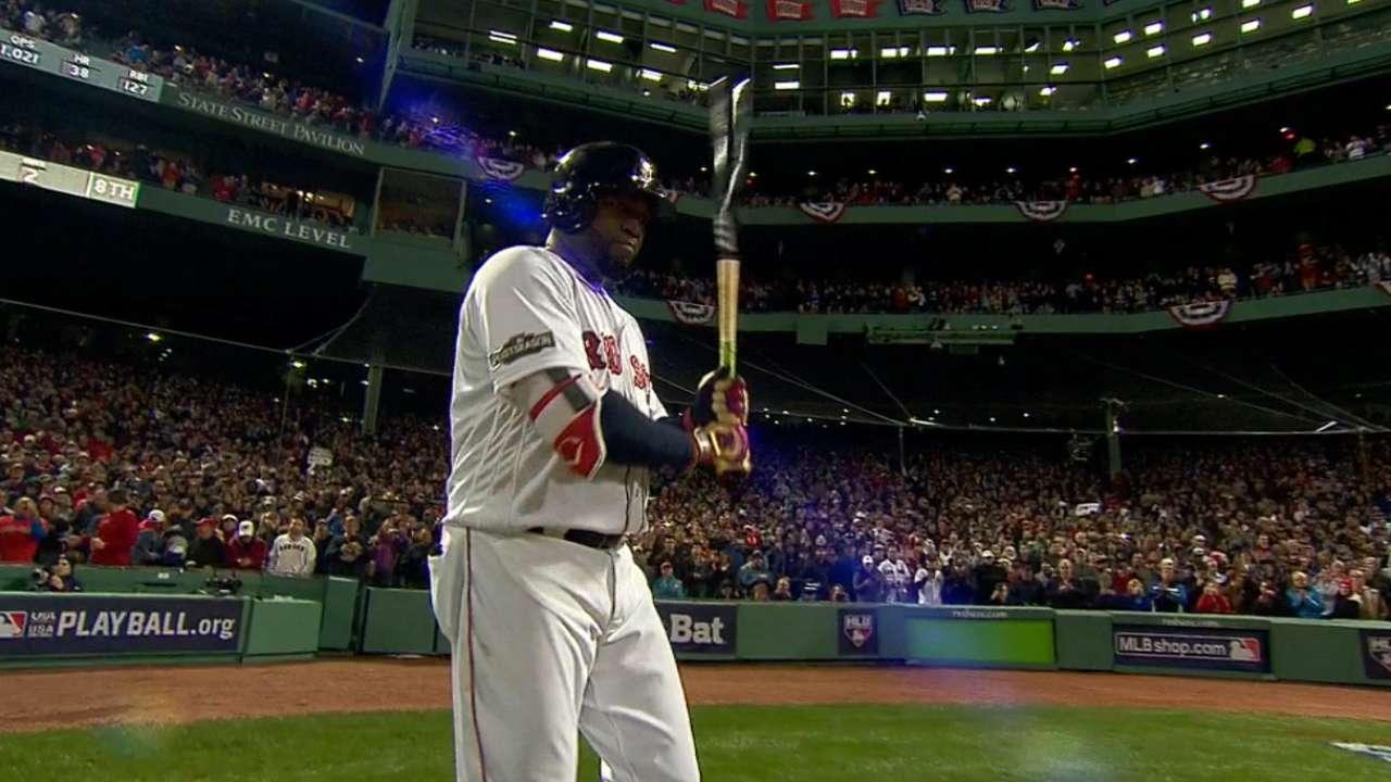 Papi's final inning