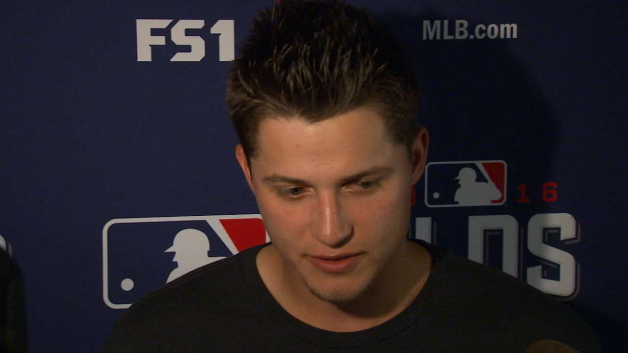 Seager on Game 3 loss to Nats