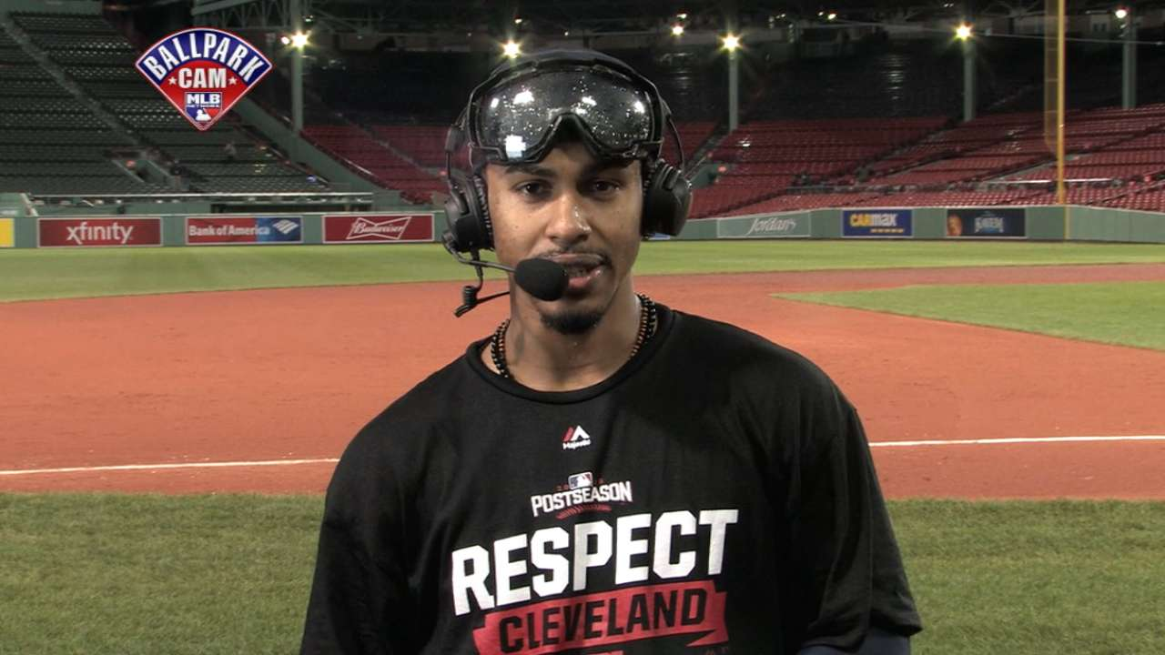Lindor on win over Red Sox