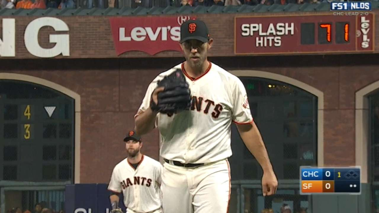 Bumgarner's five-inning outing