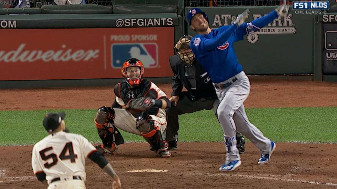Bryant's game-tying home run