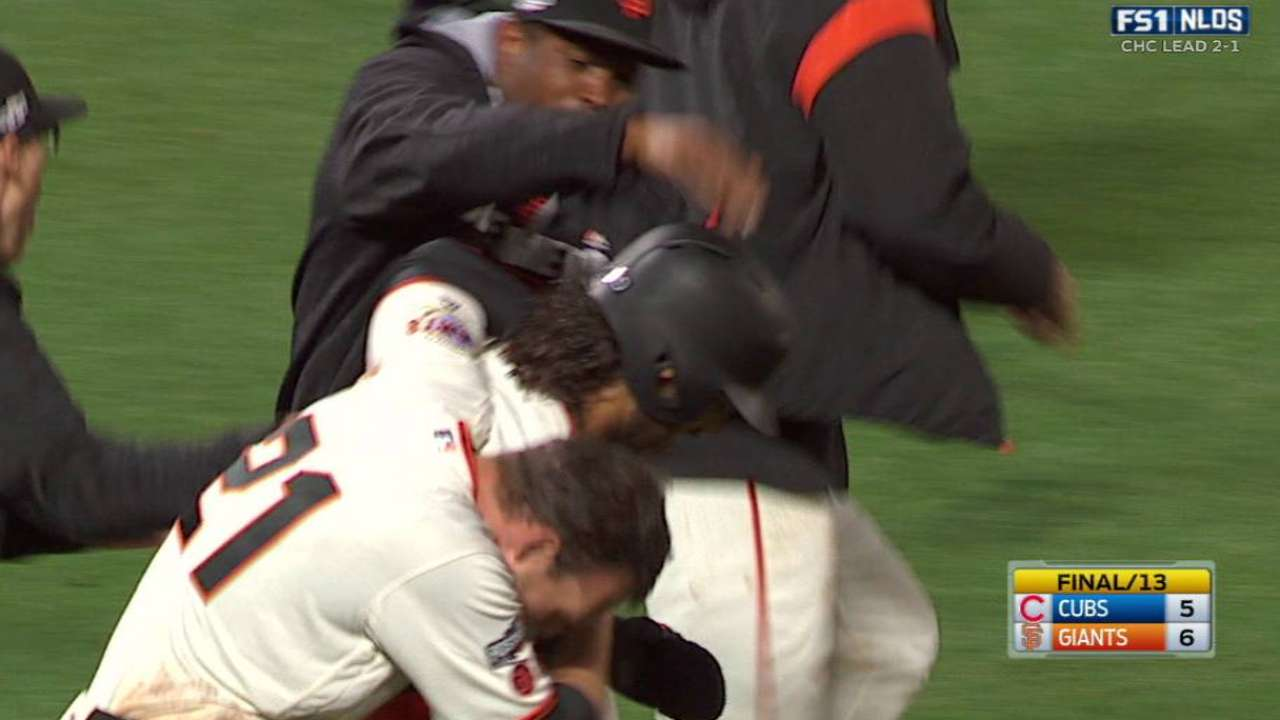 Panik's walk-off double in 13th