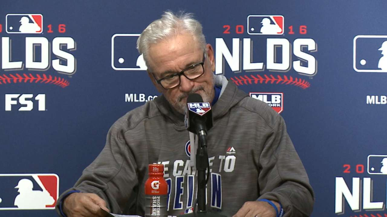 Maddon on extra-innings loss