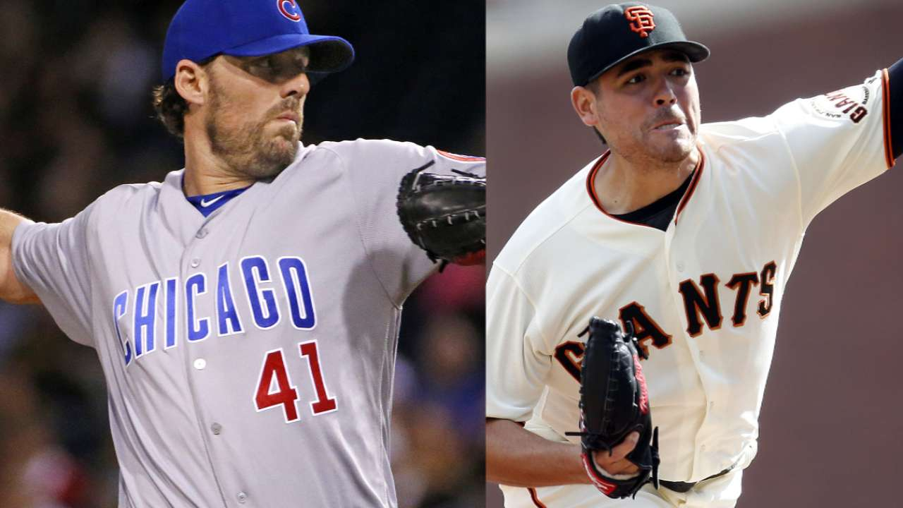 NLDS Game 4 Preview: CHC@SF