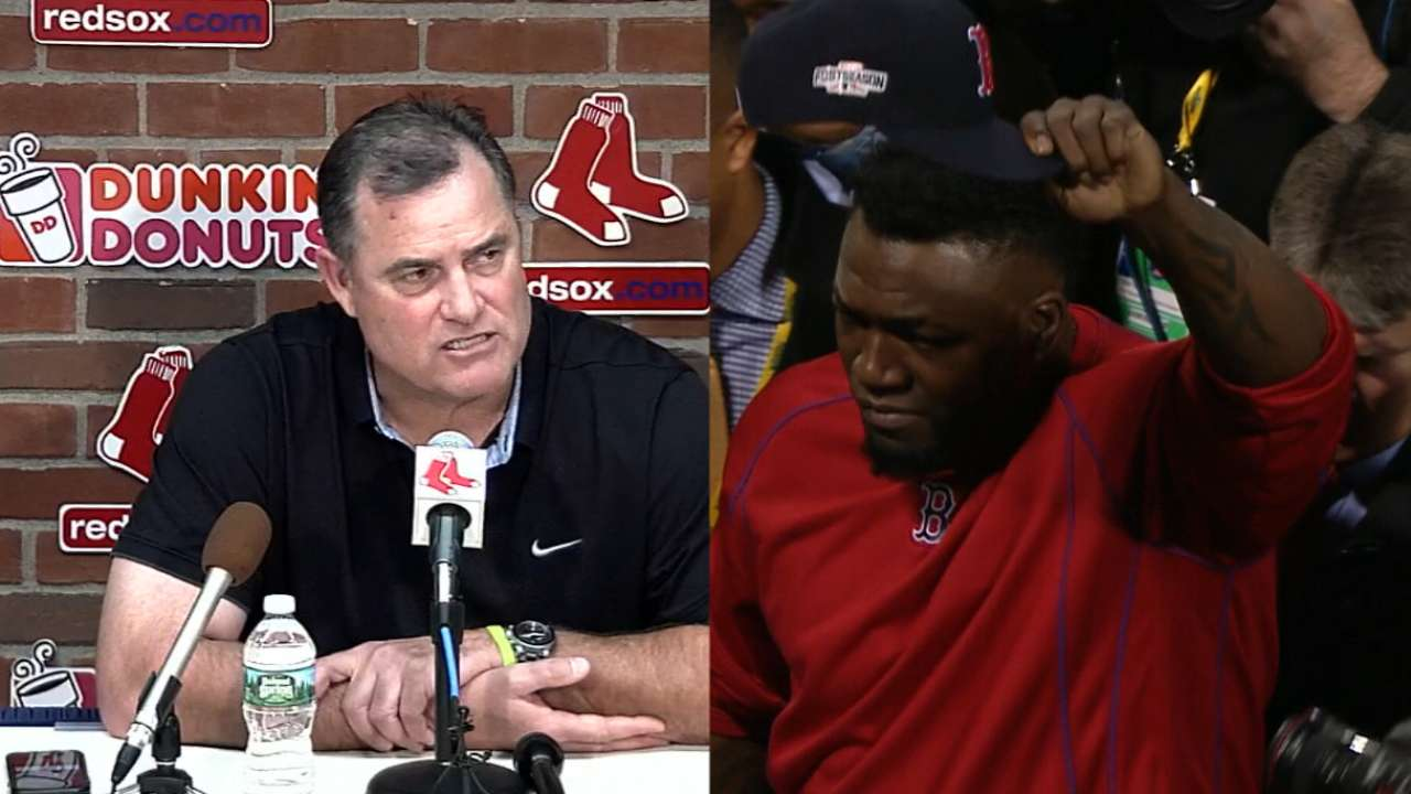 Farrell on Ortiz's importance