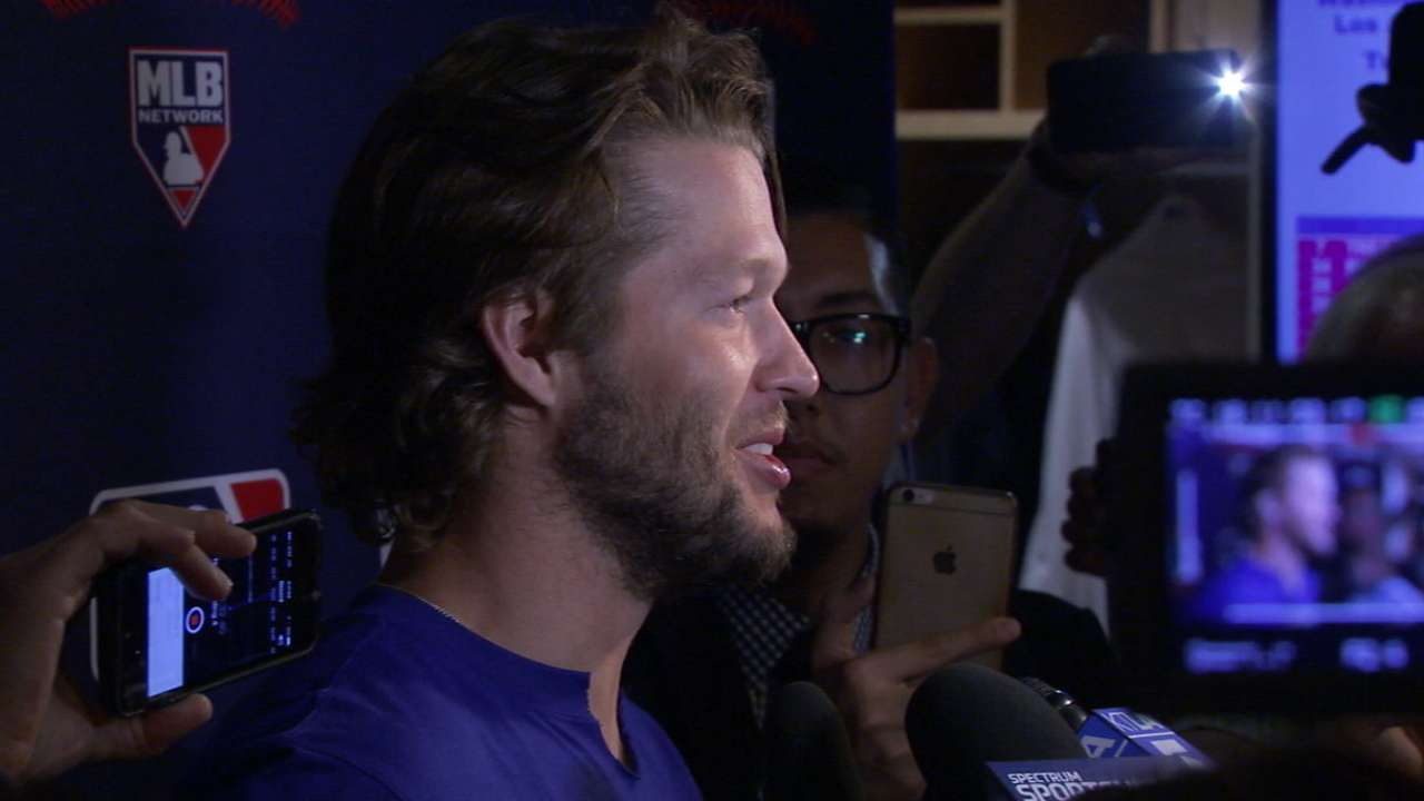 Kershaw on Dodgers' Game 4 win