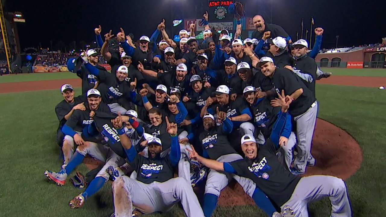 Must C: Cubs clinch NLDS