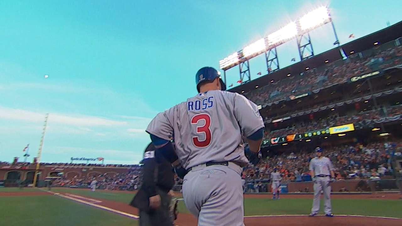 Must C: Ross' historic homer