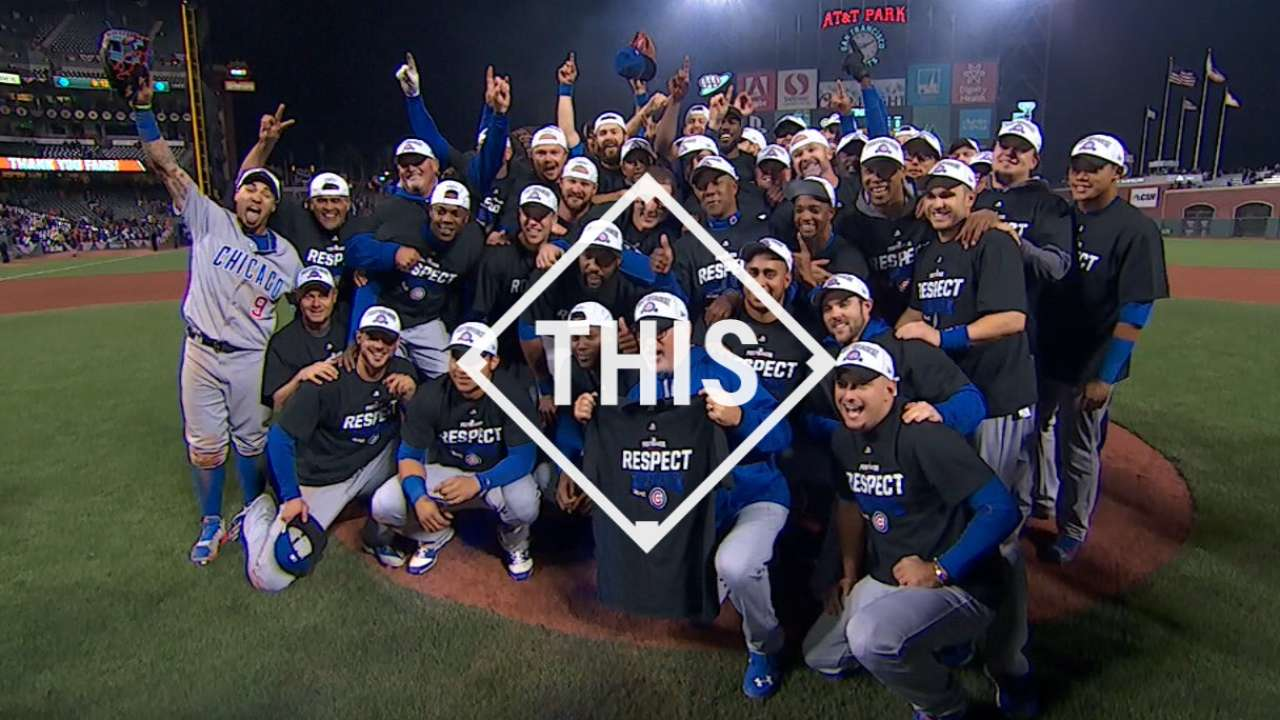 #THIS: Even year can't faze Cubs
