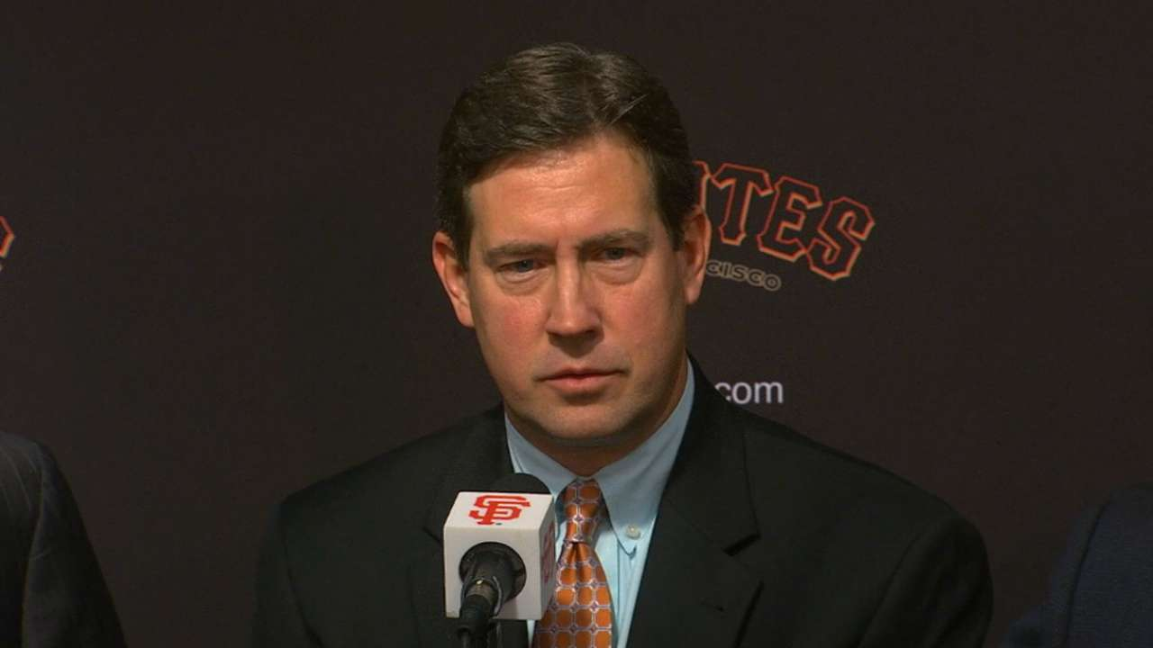 Bobby Evans on Giants' bullpen