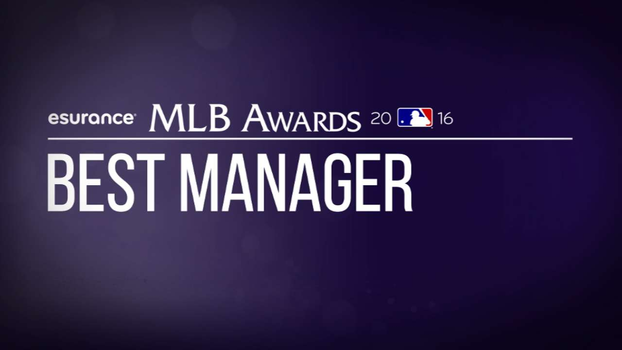 Vote for Best Manager, Exec in MLB Awards