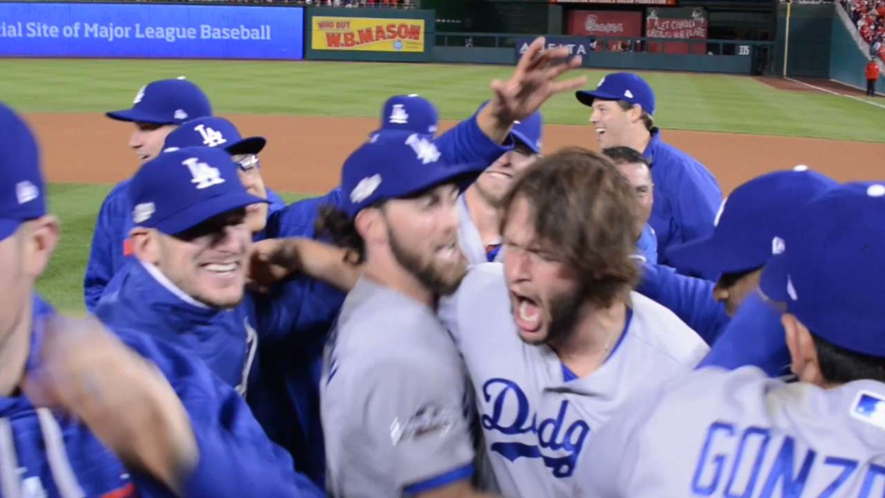 Sarah's Take: Dodgers showed grit in NLDS