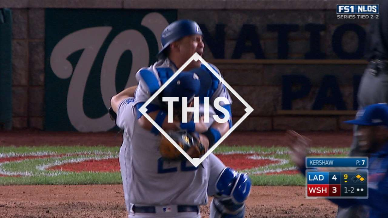 #THIS: Kershaw saves the game