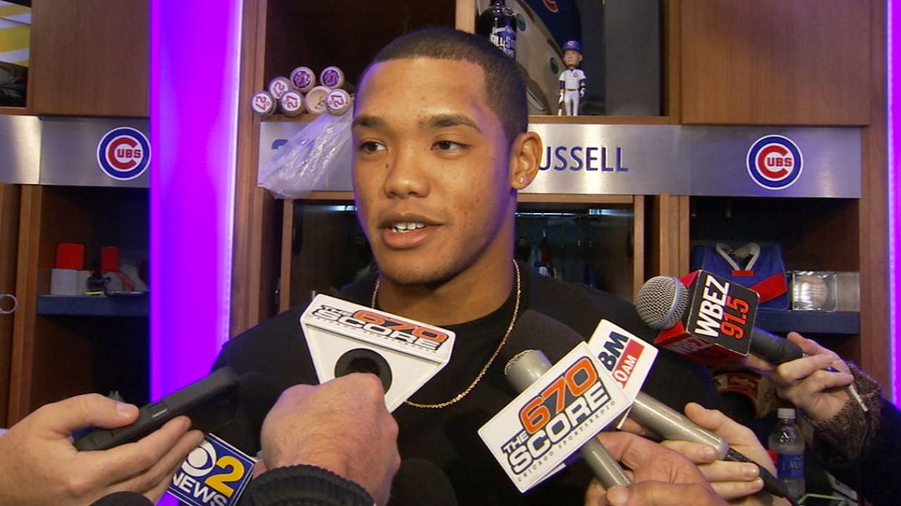Russell on facing the Dodgers