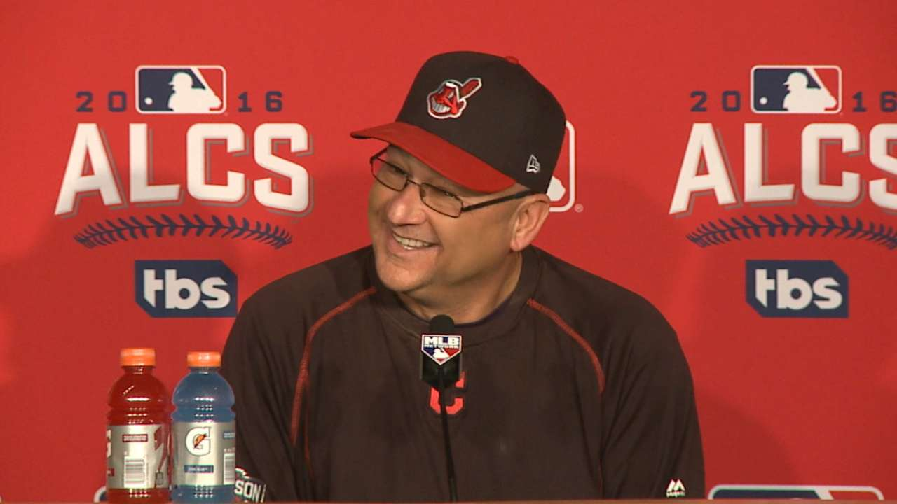 Oct. 14 Terry Francona pregame interview