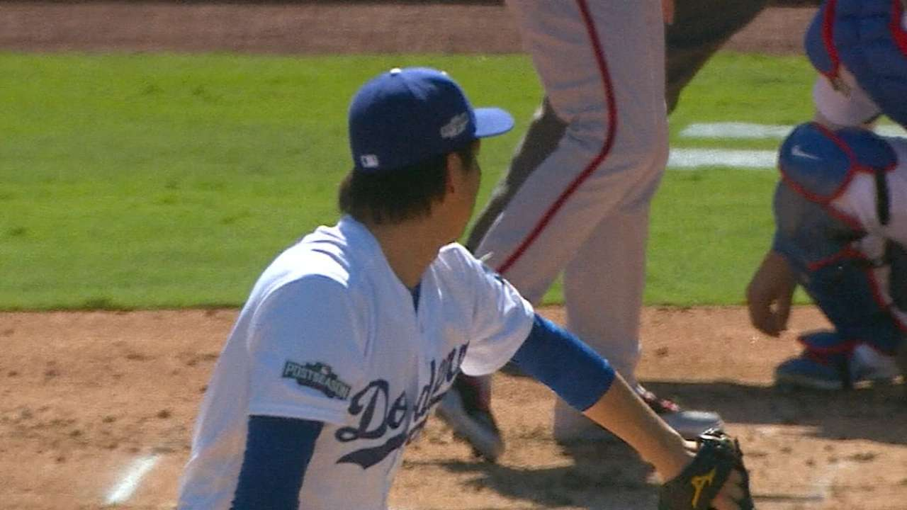 Maeda on pitching deep