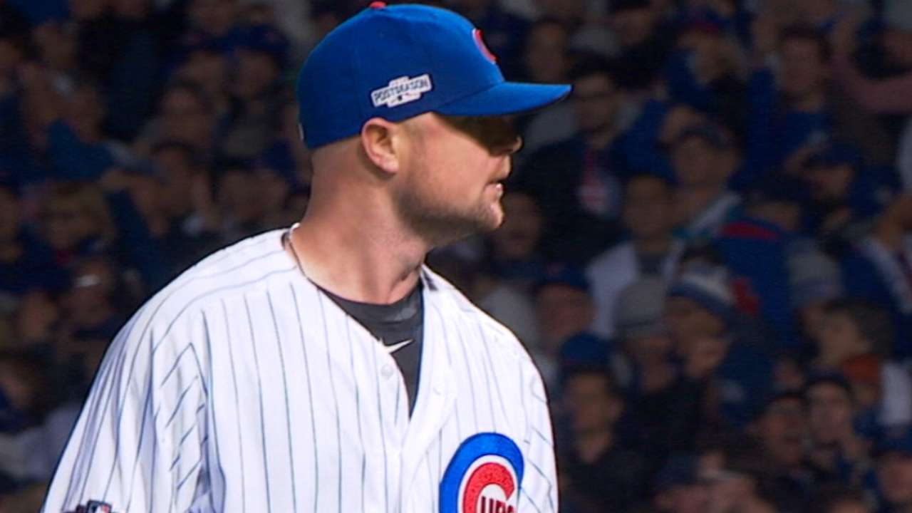 Lester on Wrigley weather