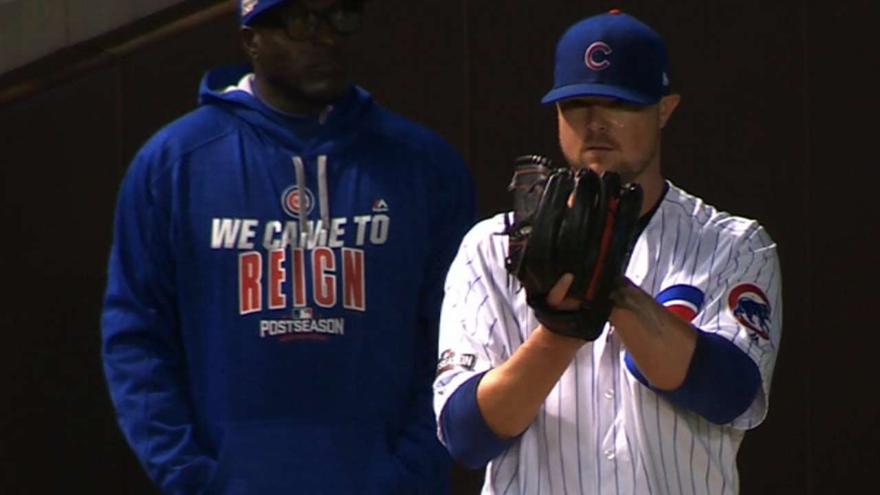 Lester on starting NLCS Game 1