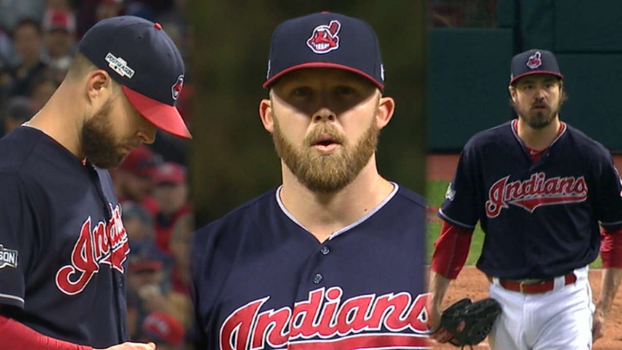 Indians' 12 K's in 12 seconds