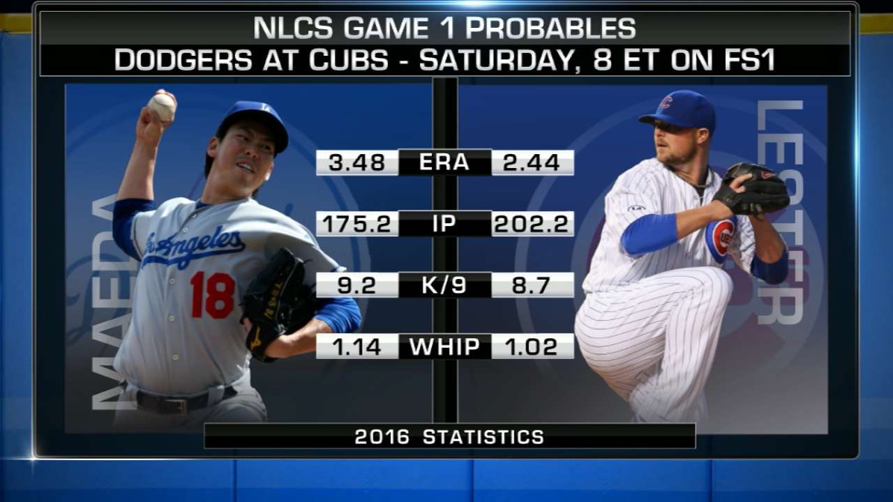 Cubs vs. Dodgers: Position-by-position NLCS look