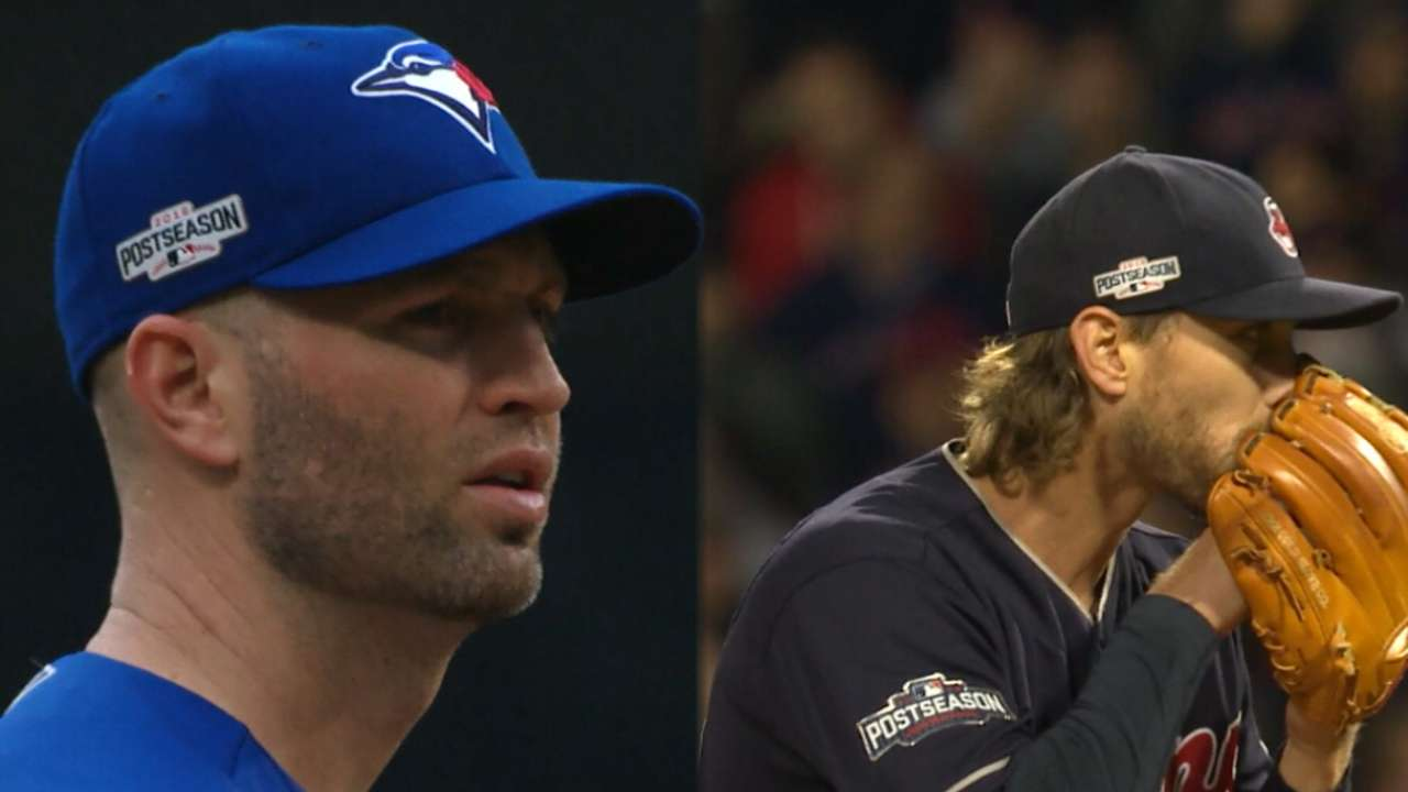 ALCS Game 2 starting lineups: Blue Jays vs. Indians