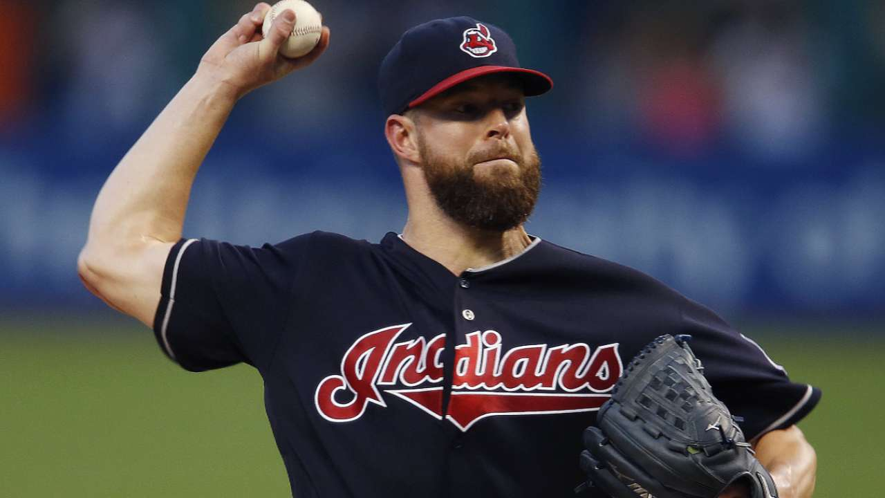Francona won't rule out Kluber for Game 4