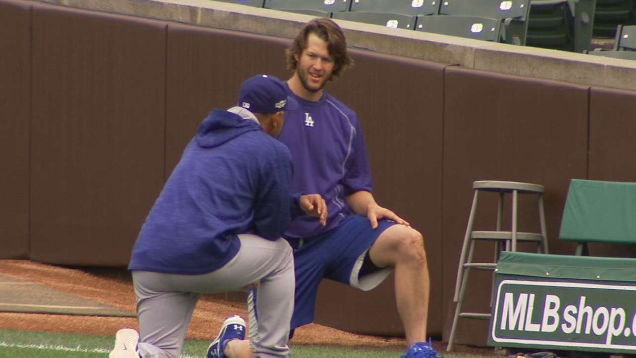 Kershaw on his routine